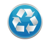 blue recycling graphic